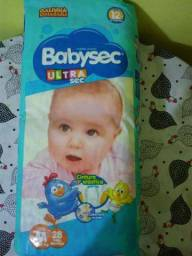 Fralda Baby Sec M