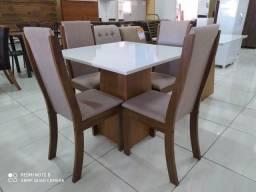 Mesa de Jantar 90x90 para quatro cadeiras comprar usado  Goiânia