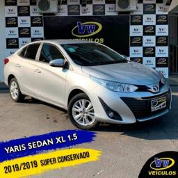 YARIS 2019/2019 1.5 16V FLEX SEDAN XL MULTIDRIVE