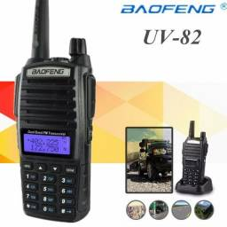 Rádio Comunicador Baofeng Ht Dual Band Uv-82 Bateria 5000mh 8w + Fone comprar usado  Goiânia