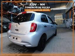 Sucata Nissan March 2015/16 1.0 77cv Flex (Somente Peças)