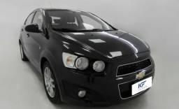 GM Chevrolet Sonic 1.6 LTZ Sedan Automático 2012 Preto Completo - 2012
