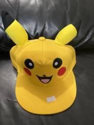 Boné do Pikachu Infantil