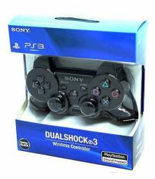 Controle PlayStation 3 Novo + Brinde Cabo d Carregar