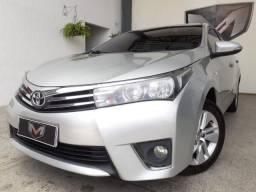 Toyota Corolla 1.8 Gli 16V 2016/2016 Prata - 2016