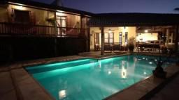 CA1875 Mansão no Porto das Dunas, casa com 10 quartos, piscina, vista mar