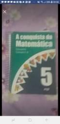 Livro de matemática usado mas em bom estado