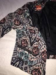 Casaco Boho tam 36 jaquetinha