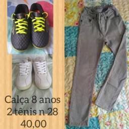 Tênis e calça