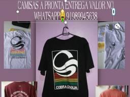 CAMISAS A PRONTA ENTREGA VALOR NO zap *38