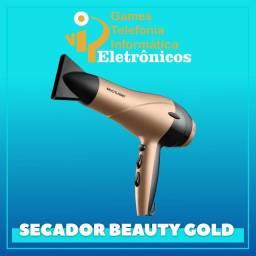 Secador de Cabelos Multilaser Gold 127V 1900W 2 Velocidades e 3 Combinações de Temperatura