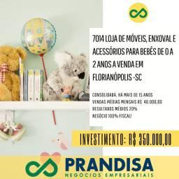 7014 Loja de móveis, artigos e acessórios para enxoval e bebês a venda em Florianópolis