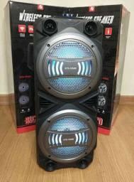 Caixa de som SUPER POTENTE KTS 1054 Wireless (ENTREGA GRÁTIS)
