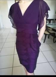 Vestido em Tafeta