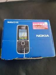 Nokia C2-01 completo na caixa