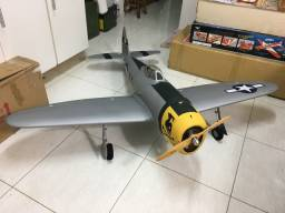 Aeromodelo P-47 SOMENTE VENDA ARAÇATUBA SÓ O KIT S/motor