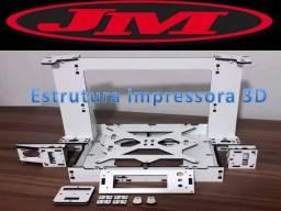 Impressora 3D Branca Itaboraí