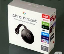 Chromecast YouTube Netflix na sua tv (( Entrego)) Aparti de 149,90