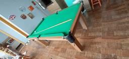 Mesa Tentação de Redes Cor Cerejeira Tecido Verde Mod. MKXG4562