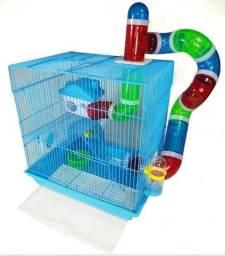 Gaiola para hamster, gerbils, topolino , camundongo, twister