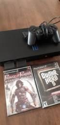 Título do anúncio: PlayStation 2 fat desbloqueado Matrix