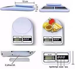 Balança Digital Precisão 10 Kg Cozinha Top Fitness<br>