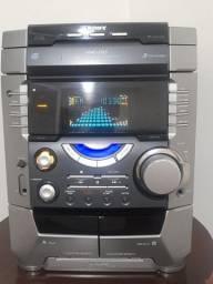 Título do anúncio: Som Sony mhc dx5 potente raridade!