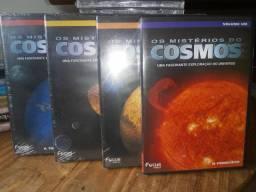Coleção Os Mistérios Do Cosmos (volumes 1, 2, 3 E 4)