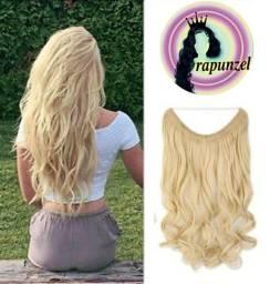 Título do anúncio: mega hair removível platinado