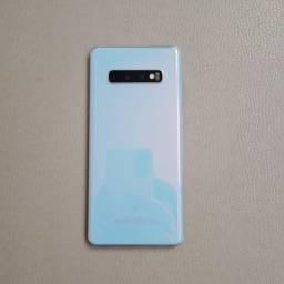 Samsung Galaxy S10+ Branco Seminovo Garantia até Agosto/2021