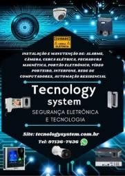 Tecnology system segurança eletrônica