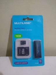 Pen Drive 3 em 1 ( 16 GB )da Multilaser
