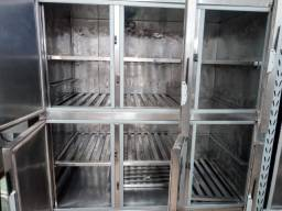 Câmara fria total inox 6 portas *H