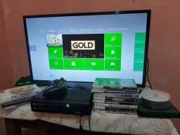 Título do anúncio: Xbox 360 destravado com mais de 50 jogos