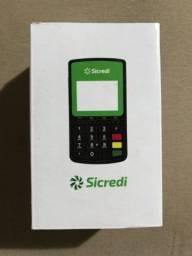 Vendo Máquina de Cartão Portátil Sicredi.