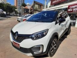 Renault Captur Intense 1.6 Automatico Flex 2019 Branco e Teto Preto