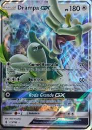 Promoção!! Carta Pokémon Básico - Drampa Gx Ps 180 - 115/145