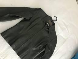 Título do anúncio: Jaqueta verde musgo feminina - tam P - usada 1 vez