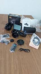 Vendo câmera profissional nova nunca usada