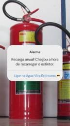 Água Viva Prevenção e Combate a Incendio