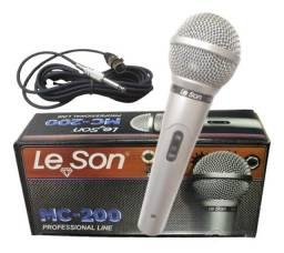 Microfone com fio- Promoção e frete grátis