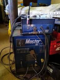 Máquina De Solda Tig Ac/dc Eutetic Master Dyna Tig 350