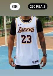 Título do anúncio: Regata Nike Nba 2021 Promoção Por Tempo Limitado - Lakers