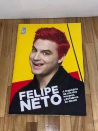 Livro Felipe Neto NOVO