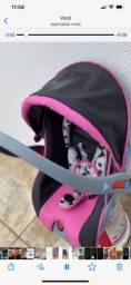 Vendo bebê conforto rosa em perfeito estado