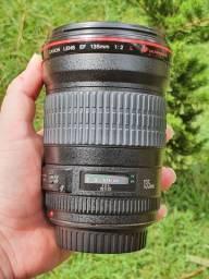 Lente Canon 135mm série L