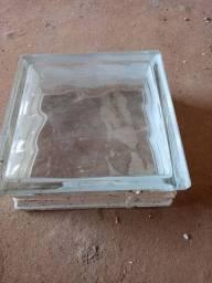 Vendo blocos de vidros incolor
