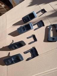 Peças de opala maçanetas, bobina, ignição, acessorios painel, distribuidor