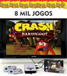 Game retro 6000 jogos / playstation / super nintendo / fliperama