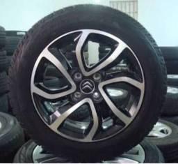 Roda Citroen Aircross aro 16 original + pneu Pirelli Scorpion Atr 205/60/16 novo